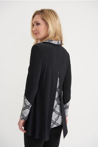 Joseph Ribkoff Black/White Tunic Style 203693