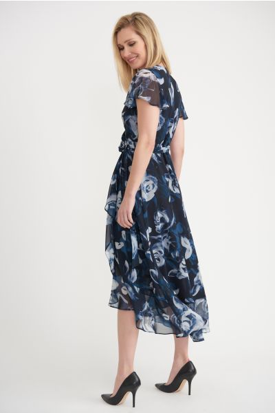 Joseph Ribkoff Blue/Multi Dress Style 203697