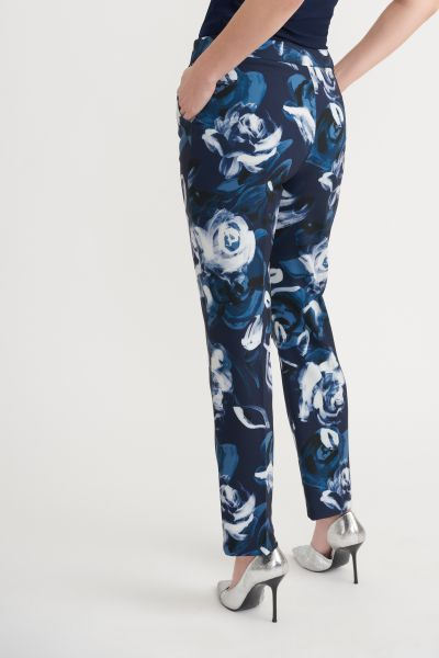 Joseph Ribkoff Midnight/Multi Pants Style 203716