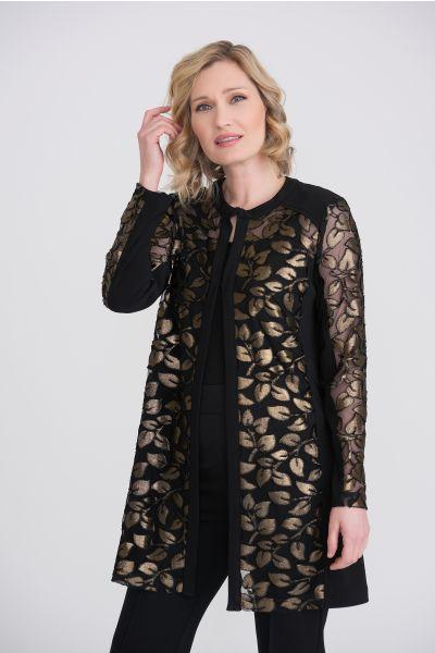 Joseph Ribkoff Black/Gold Jacket Style 204086