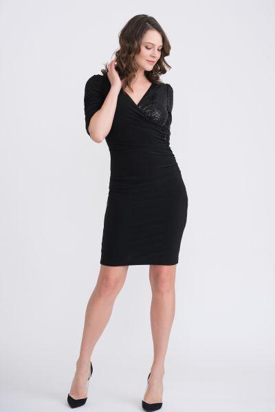 Joseph Ribkoff Black Dress Style 204130