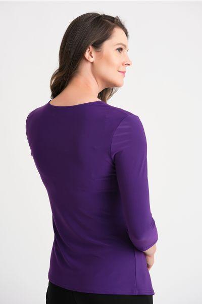 Joseph Ribkoff Ultra Violet Top Style 204198