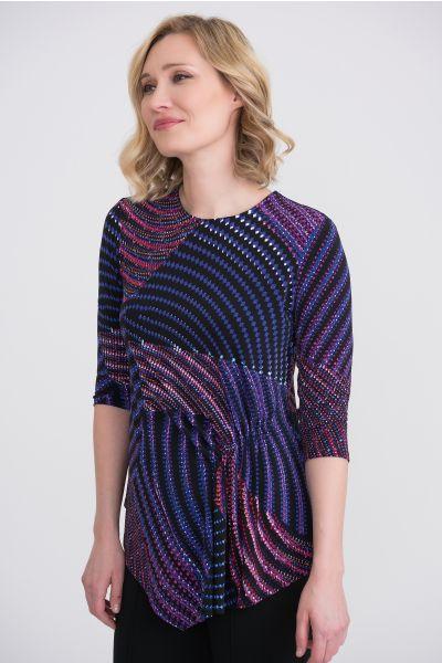 Joseph Ribkoff Purple/Multi Top Style 204210