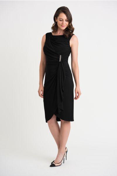 Joseph Ribkoff Black Dress Style 204231