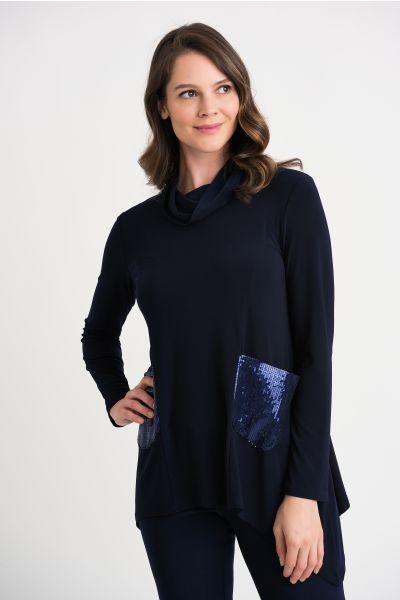 Joseph Ribkoff Midnight Blue Tunic Style 204246