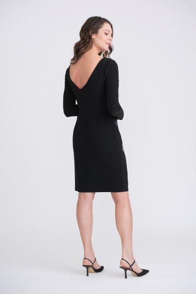 Joseph Ribkoff Black Dress Style 204310