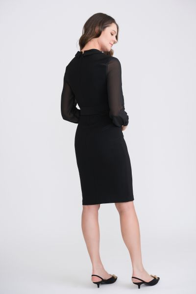 Joseph Ribkoff Black Dress Style 204370