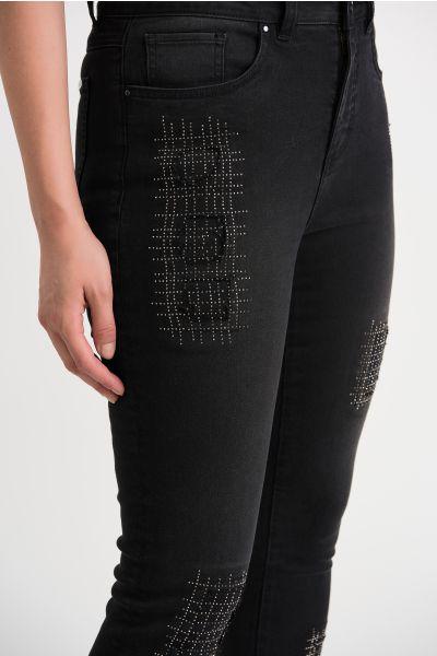 Joseph Ribkoff Charcoal/Dark Grey Pants Style 204959