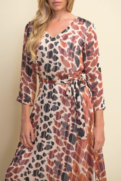 Joseph Ribkoff Multi Dress Style 211058