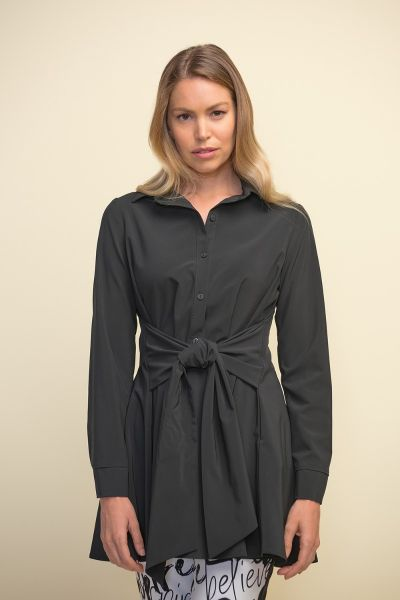 Joseph Ribkoff Black Blouse Style 211072