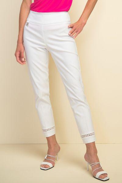 Joseph Ribkoff White Pants Style 211113