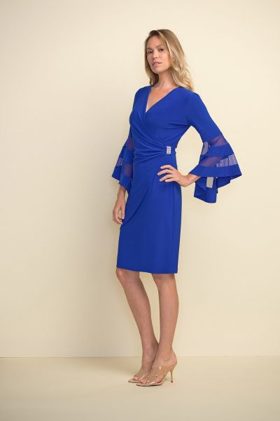 Joseph Ribkoff Royal Dress Style 211118