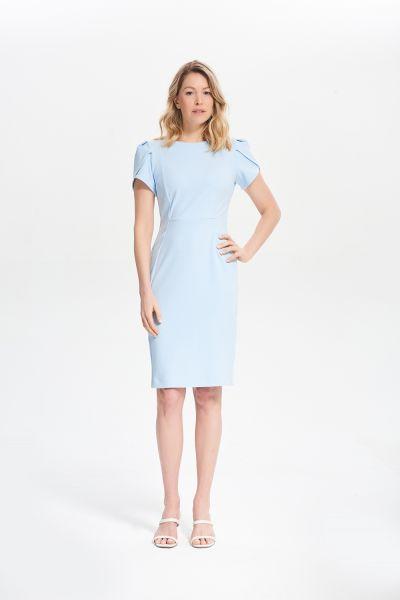 Joseph Ribkoff Moonlight Short Sleeve Dress Style 211154