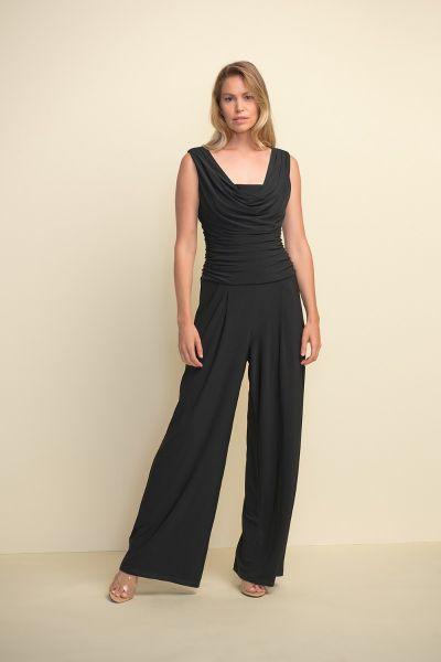 Joseph Ribkoff Black Jumpsuit Style 211157
