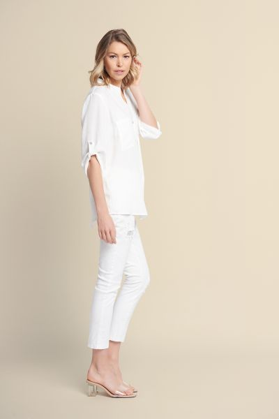 Joseph Ribkoff White Pant Style 211977