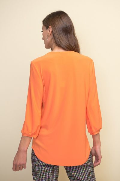 Joseph Ribkoff Tangerine Top Style 211191