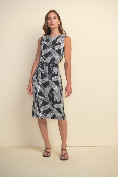 Joseph RIbkoff Black/White Dress Style 211217