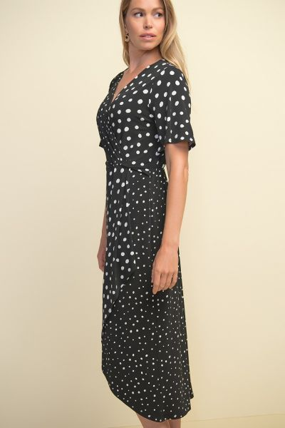 Joseph Ribkoff Black/White Dress Style 211235
