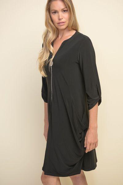 Joseph Ribkoff Black Dress Style 211238