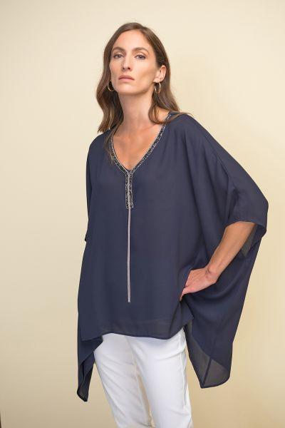 Joseph Ribkoff Midnight Blue Tunic Style 211265
