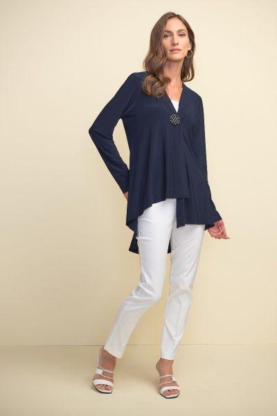 Joseph Ribkoff Midnight Blue Cover Up Style 211315
