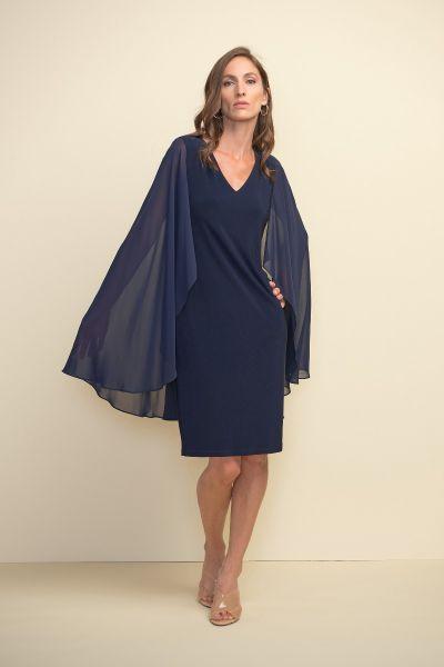 Joseph Ribkoff Midnight Blue Dress Style 211341