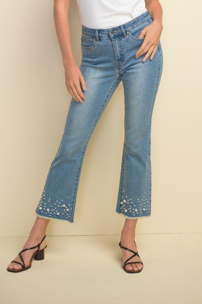 Joseph Ribkoff Light Blue Denim Pant Style 211921