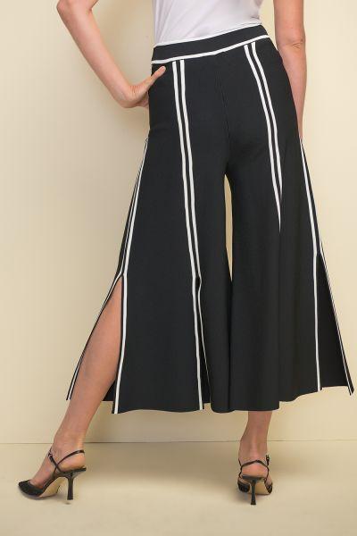 Joseph Ribkoff Black/Vanilla Pants Style 211930