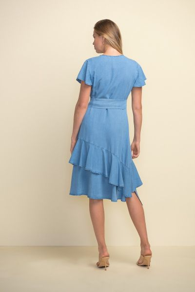 Joseph Ribkoff Light Blue Dress Style 211962