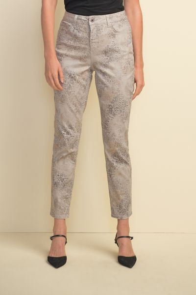 Joseph Ribkoff Sand/Multi Pants Style 211964