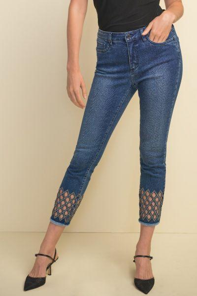 Joseph Ribkoff Denim Blue Pants Style 211967