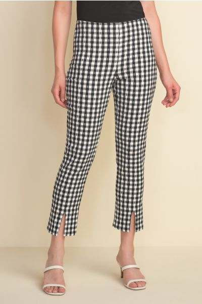 Joseph Ribkoff Black/White Pant Style 212008