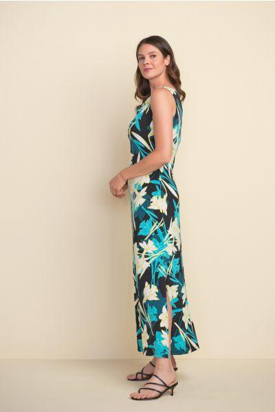Joseph Ribkoff Black/Multi Dress Style 212027