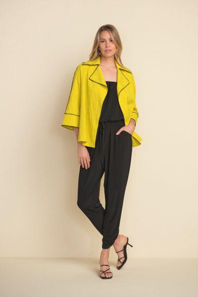 Joseph Ribkoff Lime Constrast Trim Jacket Style 212045