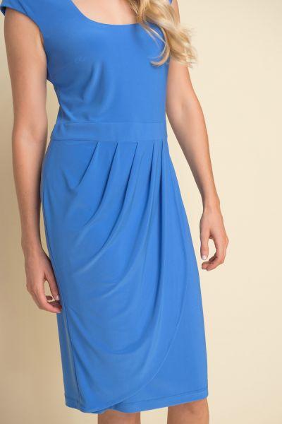 Joseph Ribkoff Aegean Sea Cap Sleeve Dress Style 212106