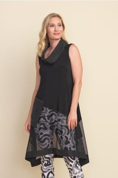 Joseph Ribkoff Black Tunic Style 212133