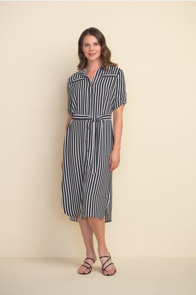 Joseph Ribkoff Black/White Dress Style 212162