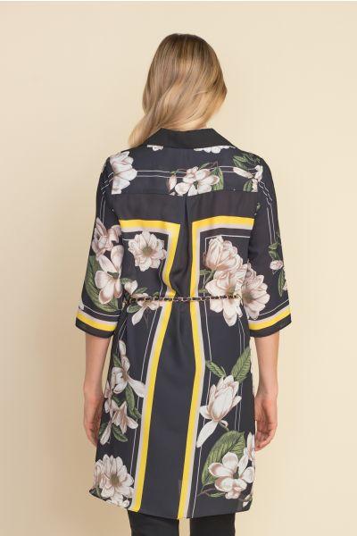 Joseph Ribkoff Black/Multi Dress Style 212165