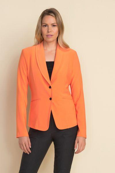 Joseph Ribkoff Tangerine Tailored Blazer Style 212171