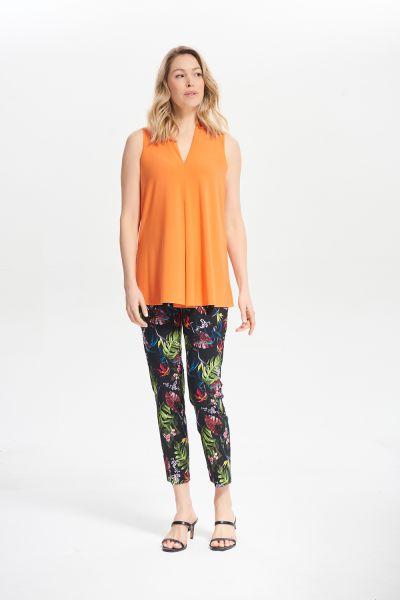 Joseph Ribkoff Tangerine V-Neck Camisole Style 212184