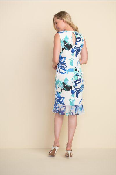 Joseph Ribkoff Vanilla/Multi Dress Style 212193