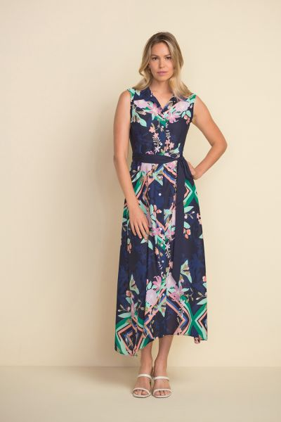 Joseph Ribkoff Multi Shirt Dress Style 212202