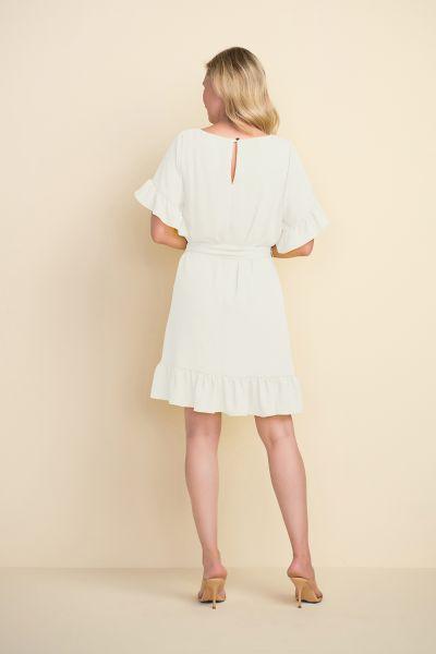 Joseph Ribkoff White Dress  Style 212217