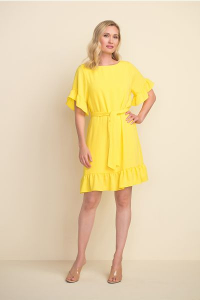Joseph Ribkoff Lemon Dress  Style 212217