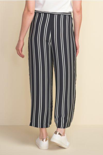 Joseph Ribkoff Black/Vanilla Pant Style 212244