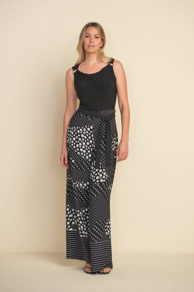 Joseph Ribkoff Black/White Pants Style 212248
