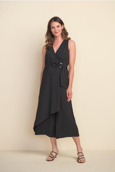 Joseph Ribkoff Black Jumpsuit Style 212264