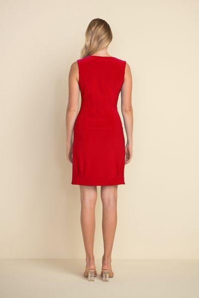 Joseph Ribkoff Lipstick Side Zip Dress Style 212306