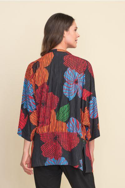 Joseph Ribkoff Black/Multi Cover Up Style 212310