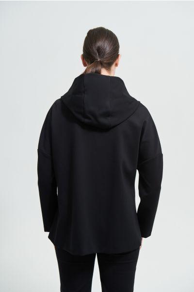 Joseph Ribkoff Black Coat Style 213005